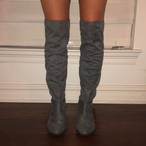 Nasty Gal Knee High Boots